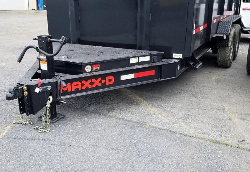 2021 MAXXD 7X16 DJX Dump Trailer
