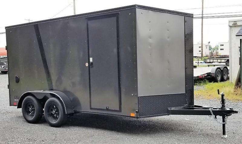 2021 Cargo Express 7x14 Enclosed Trailer w/Ramp Door