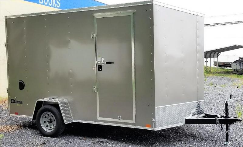 2021 Cargo Express 7 X 12 Enclosed Cargo Trailer W/RAMP DOOR