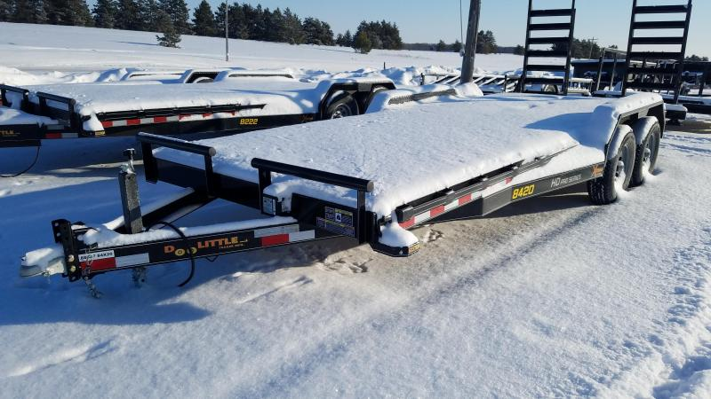 20' Skidsteer Trailer with 5200lb Axles
