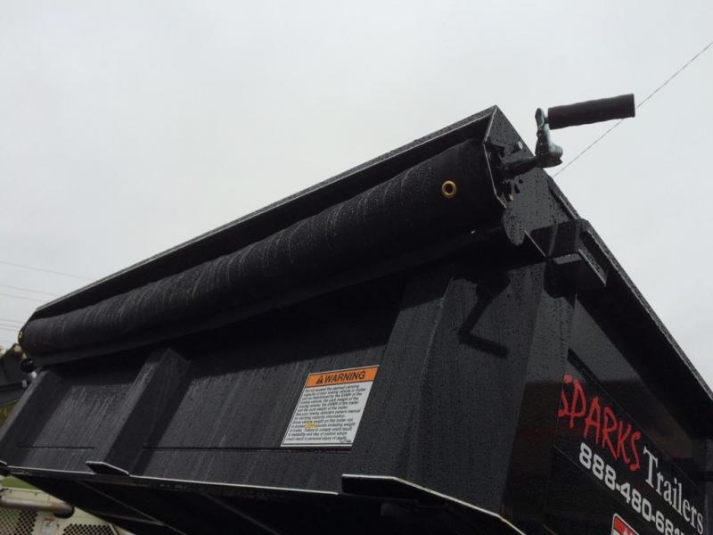 Sparks 14'  Dump Trailer-50% more dumps Gravity Down Feature