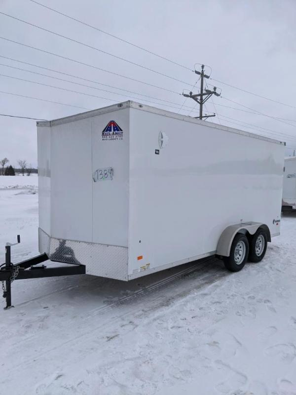 Sparks 7x16 v nose Enclosed  Trailer  We Deliver !!