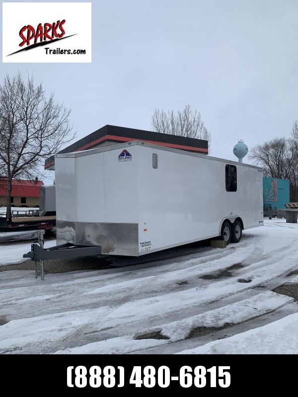 2021 Haul-About enclosed Car / Racing Trailer
