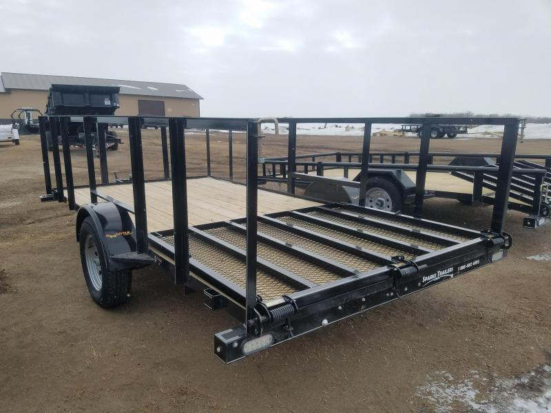 "Doolittle 84"" X14' Utility (3' high rail sides)"