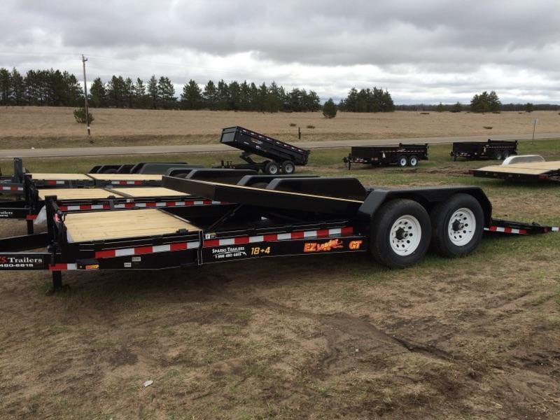 Sparks  22' tilt Equipment Trailer (18' on the tilt +4' stationary)