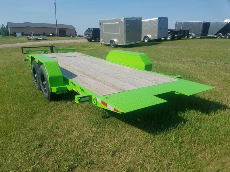 Sparks  20' tilt Equipment Trailer (16' on the tilt +4' stationary)