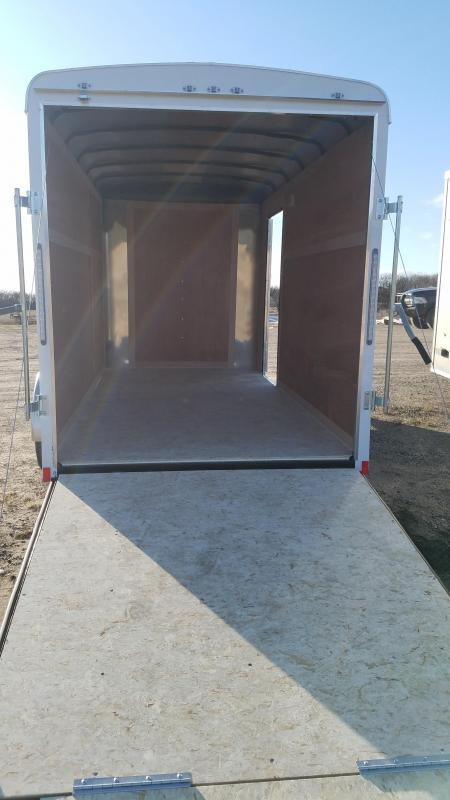 Sparks 6X12' Enclosed Trailer