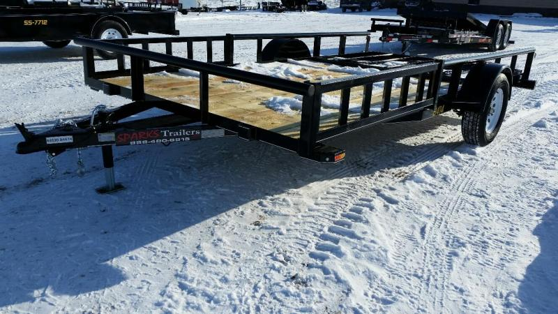 Sparks 14' with ATV ramps Utility Trailer