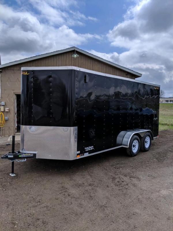Sparks 7'X16'  Enclosed Cargo Trailer  We Deliver !!