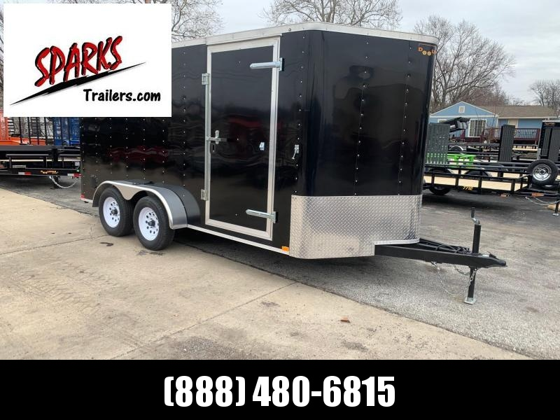 Sparks 7'X16'  Enclosed Cargo Trailer  We Deliver !!