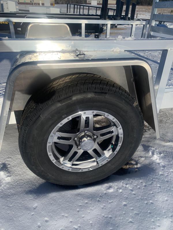 "84""X14' Sparks Aluminum Utility WE DELIVER!!"