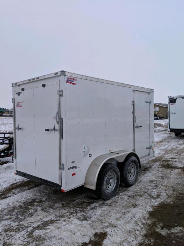 Sparks  6x12' with tandem 5200 lb axles Enclosed Cargo Trailer