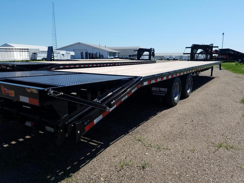 Doolittle 40' Gooseneck with 12k Axles and Monster Ramps