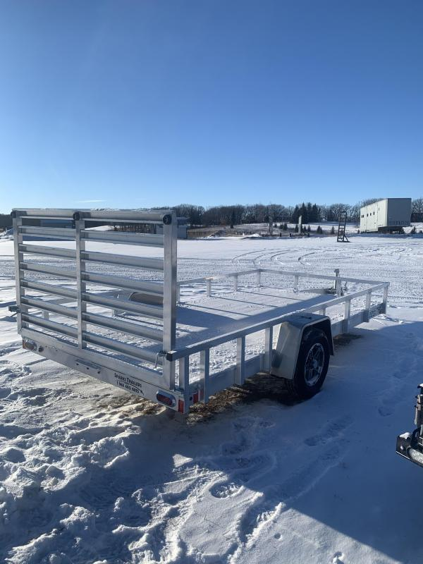 "84""X14' Sparks Aluminum Utility WE DELIVER!!"