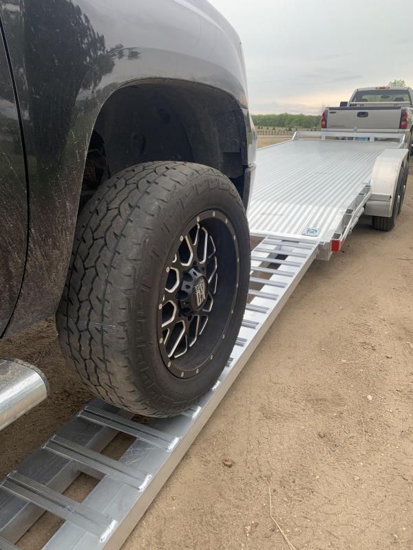 8ft HD aluminum loading ramps