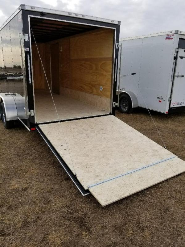 Sparks 7x16 v nose Enclosed  Trailer (7' Interior Hgt.)