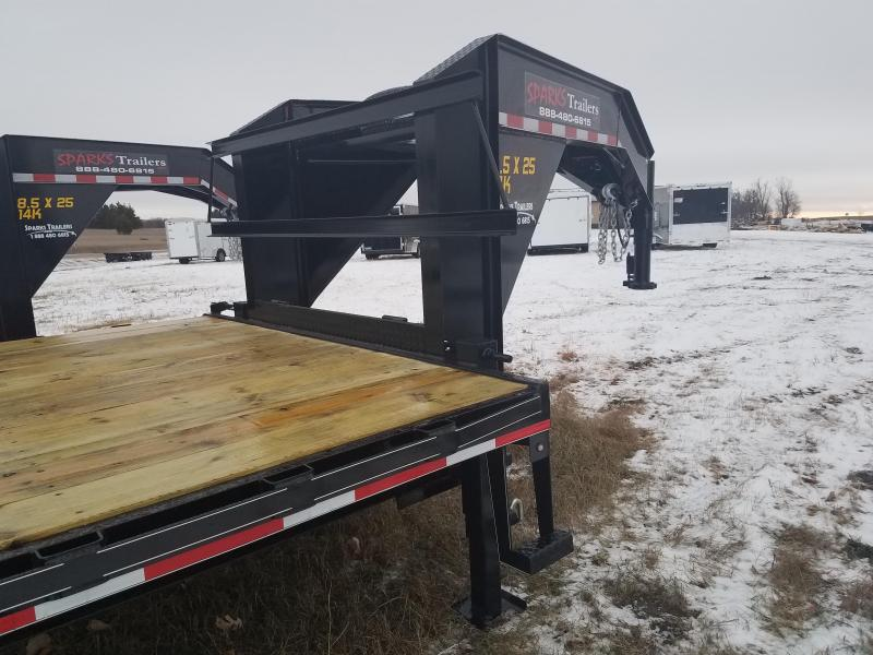 Sparks 28' GN 10k MR Equipment Trailer