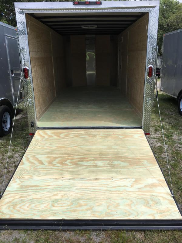 2021 Arising 7x16 Tandem Axle Enclosed Cargo Trailer