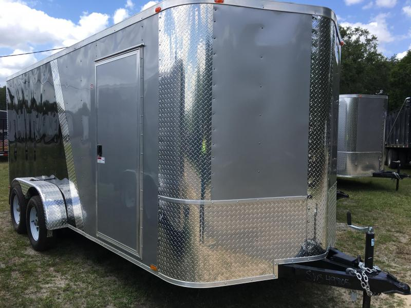 2021 Arising 7x16 Tandem Axle Enclosed Cargo Trailer