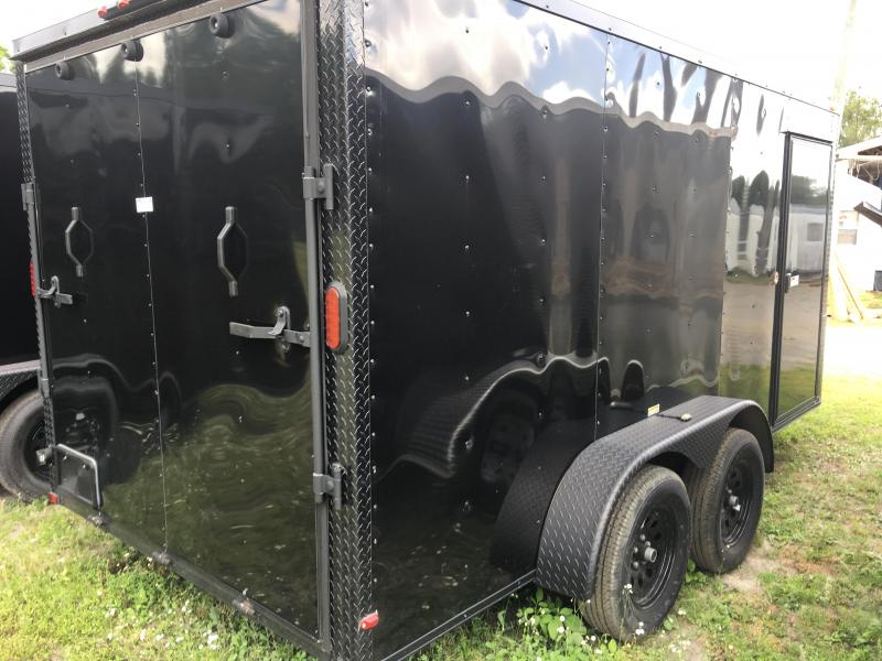 2021 Arising 7x14 Tandem Axle Enclosed Cargo Trailer