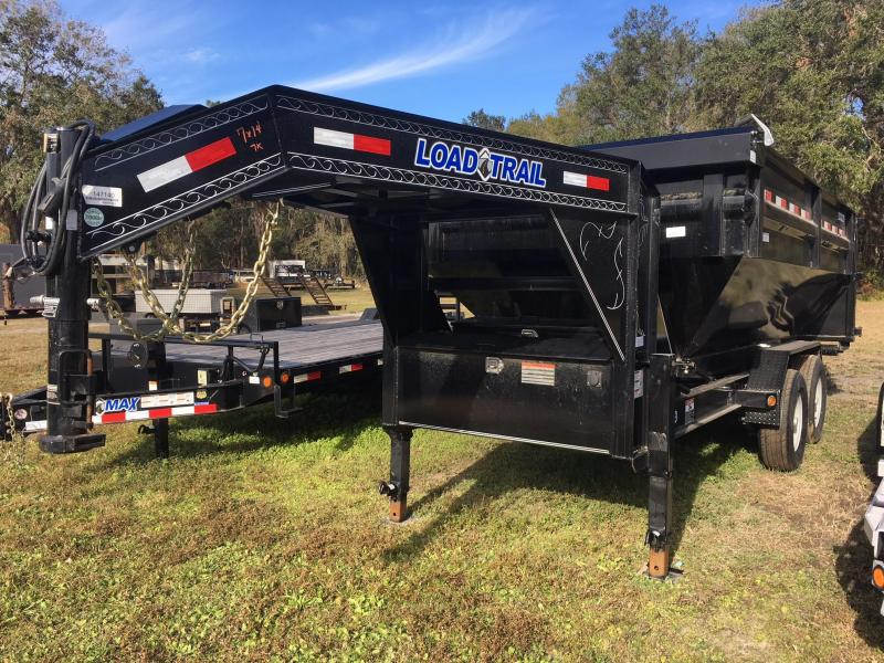 2021 Load Trail 7x14 GN Drop N GO Roll Off Dump Trailer