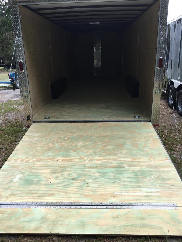 2020 Arising 8.5x24 Tandem Axle Enclosed Cargo Trailer