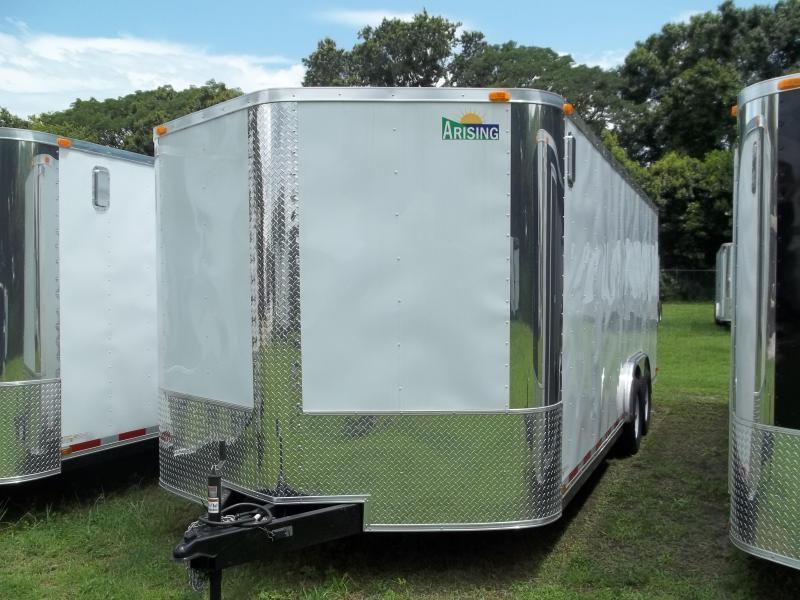 2021 Arising 8.5x20 Tandem Axle Enclosed Cargo Trailer