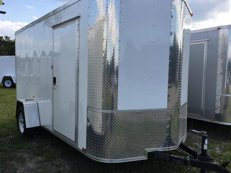 2021 Arising 6x12 Single Axle Enclosed Cargo Trailer