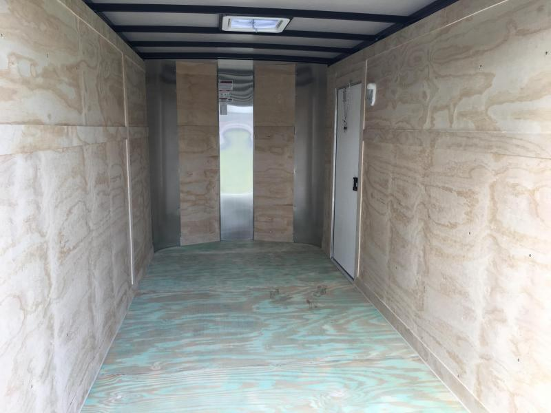 2021 Arising 6x12 Single Axle Enclosed Cargo Trailer