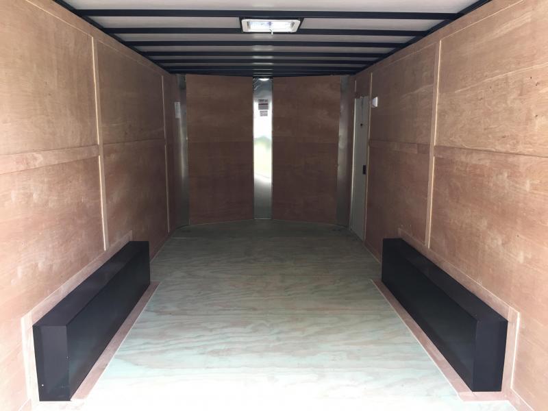 2020 Arising 8.5x18 Tandem Axle Enclosed Cargo Trailer