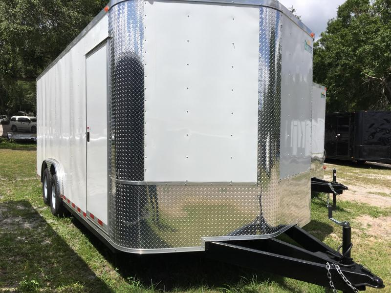 2021 Arising 8.5x18 Tandem Axle Enclosed Cargo Trailer