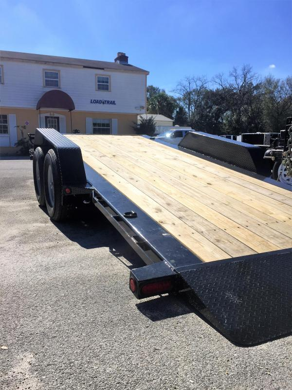 2021 Load Trail Tilt Deck Equipment Trailer
