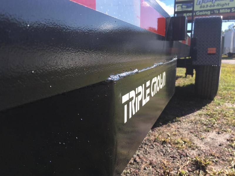 2021Triple Crown Trailers 7x20  14K Equipment Trailer