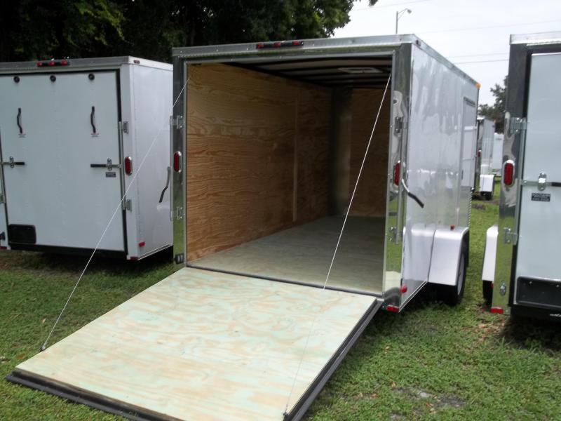 2020 Arising 7x12 Single Axle Enclosed Cargo Trailer