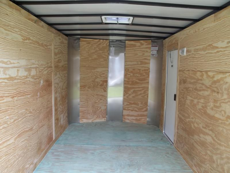 2021 Arising 7x12 Single Axle Enclosed Cargo Trailer