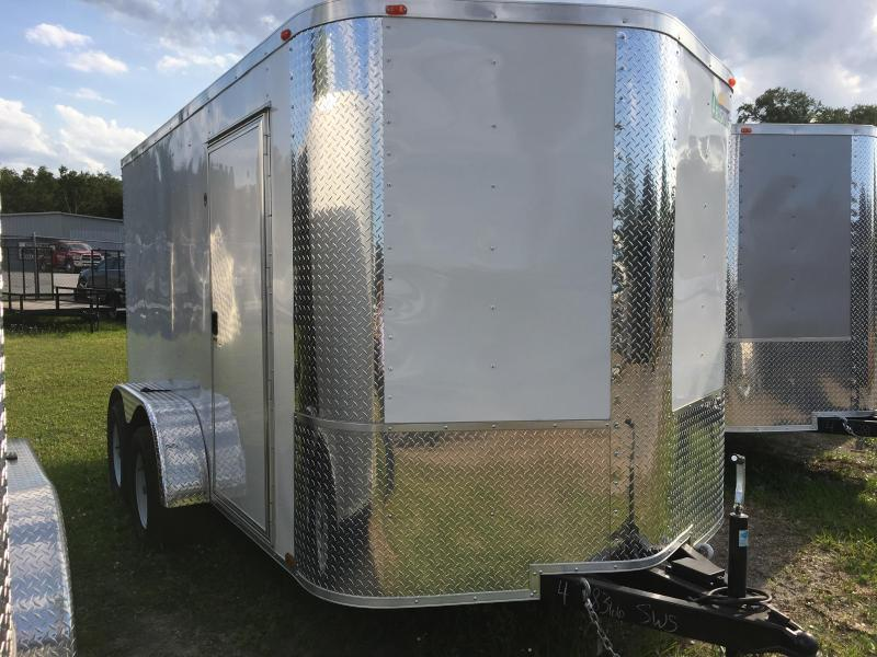 2020 Arising 7x12 Tandem Axle Enclosed Cargo Trailer