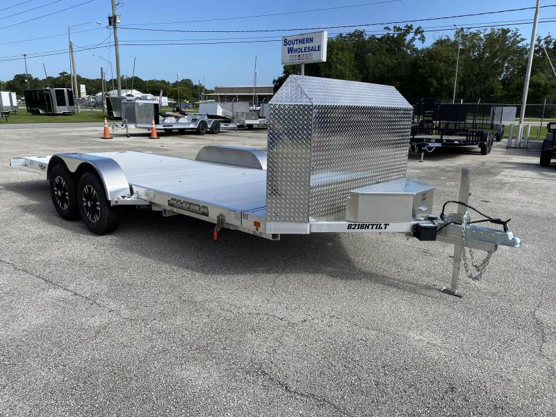 2020 Aluma 8218 Tilt Executive Series Car / Racing Trailer