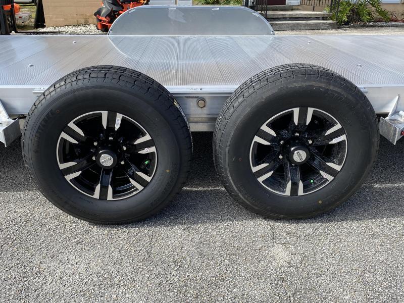 2020 Aluma 8218 Tilt Executive Series Car / Racing Trailer