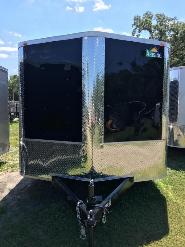 2020 Arising 8.5x16 Tandem Axle Enclosed Cargo Trailer