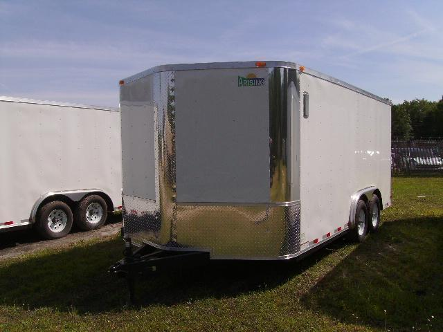 2021 Arising 8.5x16 Tandem Axle Enclosed Cargo Trailer