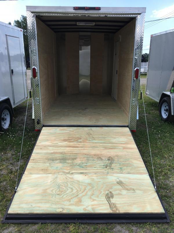 2020 Arising 6x10 Single Axle Enclosed Cargo Trailer