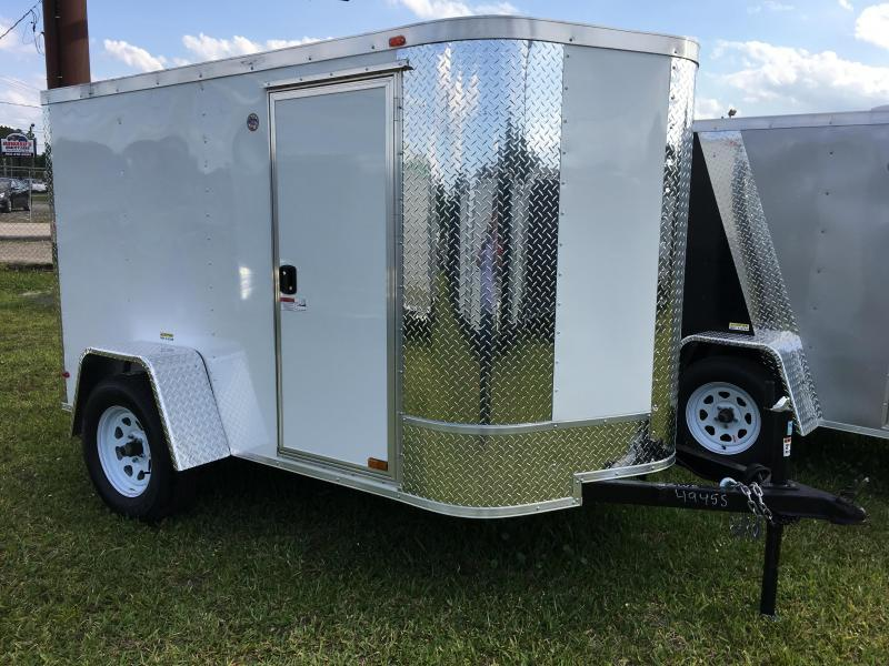 2021 Arising 5x8 Single Axle Enclosed Cargo Trailer