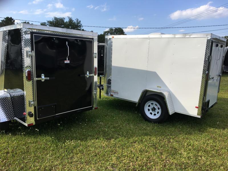 2020 Arising 5x8 Single Axle Enclosed Cargo Trailer