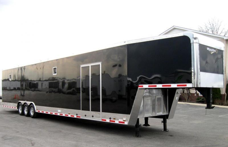 <b>SOLD</b> Dragster Pkg. 2020 48' Millennium Enclosed Gooseneck Race/Car Trailer