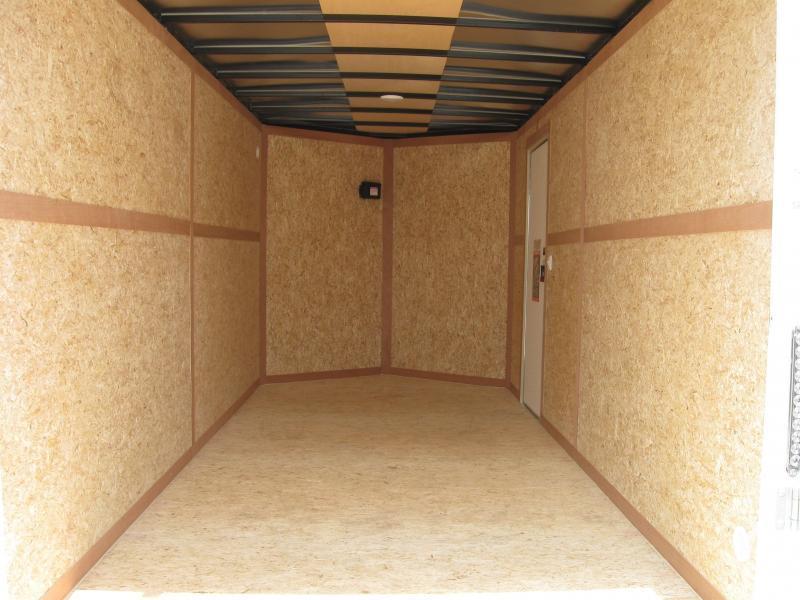 7'x16' Scout Enclosed Cargo Trailer w/Plus Pkg/ Torsion Axles PLUS FREE OPTIONS