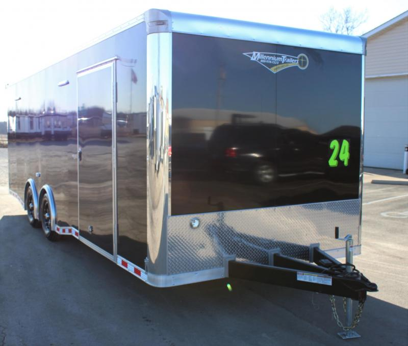 24' Millennium Extreme w/Rear Wing & Charcoal Cabinets