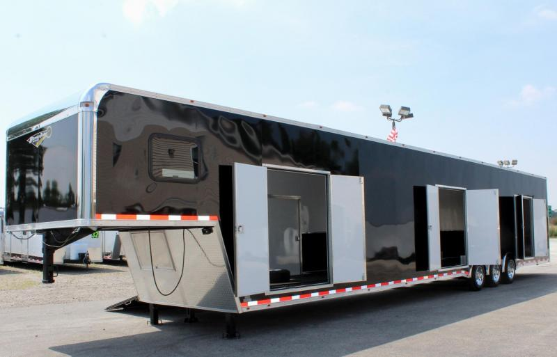 <b>Multi-Car Transport Dream Trailer</b> 53' Millennium Platinum Car with all the Extras!