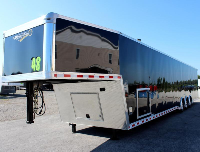48' Millennium Extreme Gooseneck with Tapered Nose and Loaded Out!