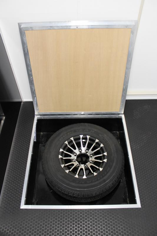 <b>READY 6/11</b> 2021 44' Millennium Race Car Trailer w/LQ 12' Sofa +8' Large Bath w/Corner Shower