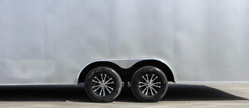 "<b>Now Available</b>  2020 24' Transport V Car Trailer w/Heavy Duty 5200# Axles/ Screwless Exterior/ 6"" Extra High/ Alum Wheels"
